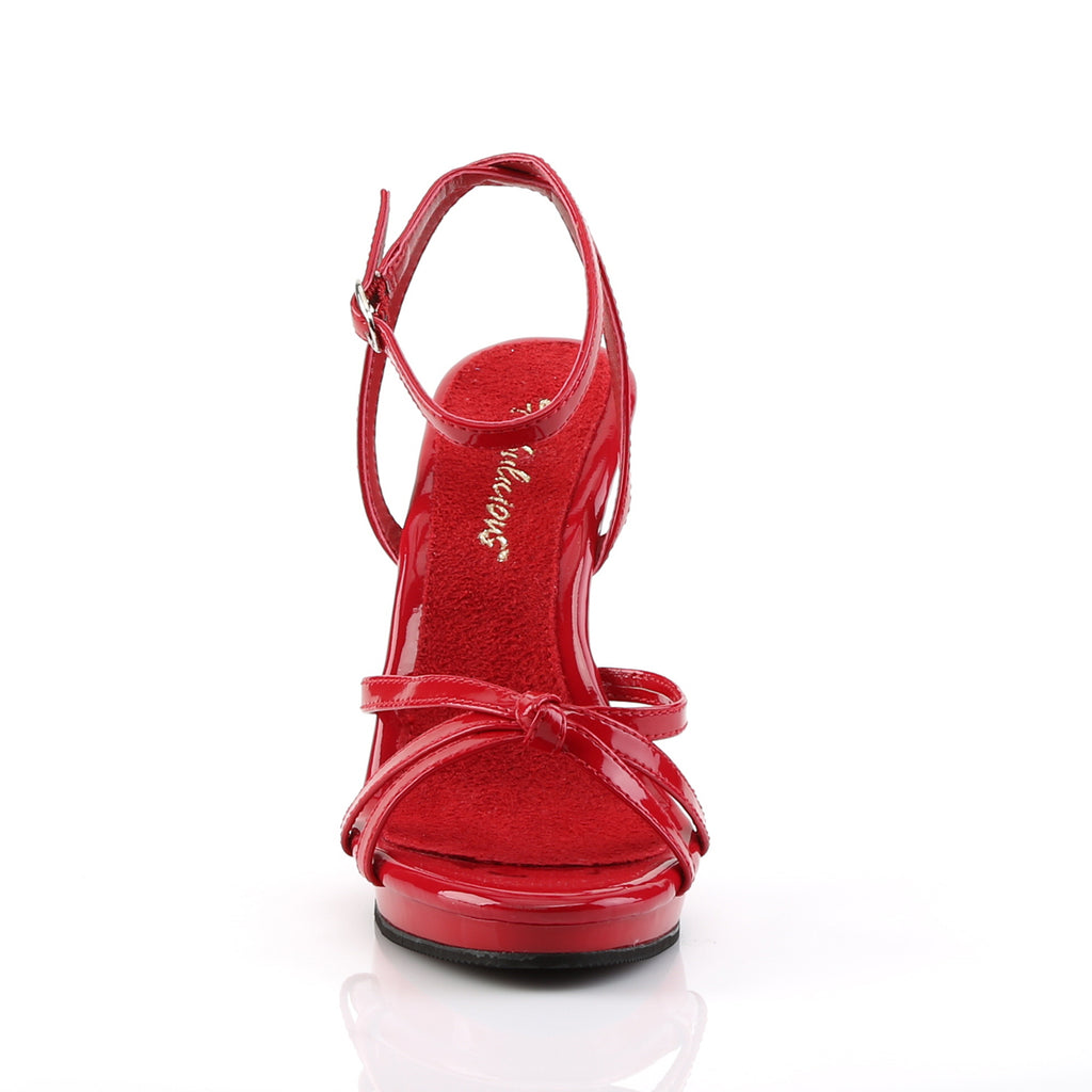Flair 436 Red Patent Strappy Sandals