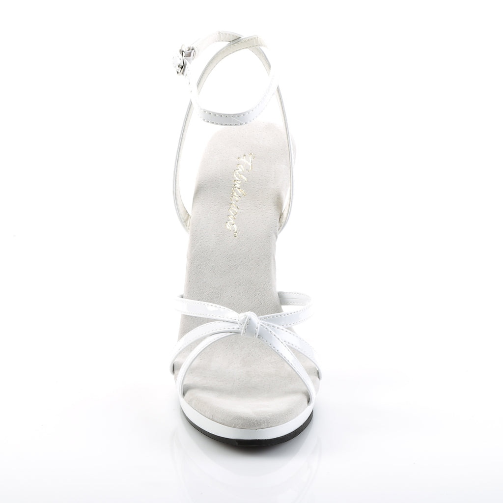 Flair 436 White Strappy Sandals