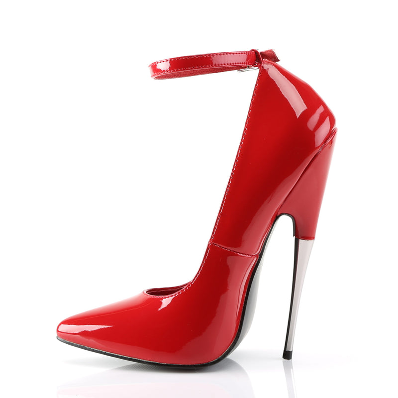 Scream 12 Red Patent Steel High Heels