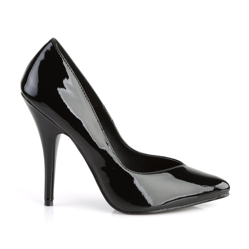 Seduce 420V Black Patent Pumps