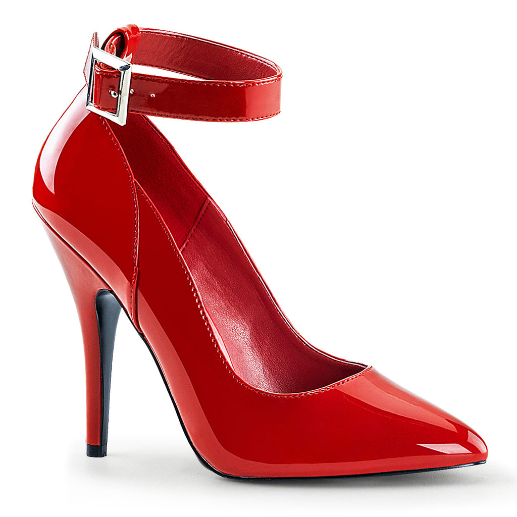 Seduce 431 Red Patent Pumps