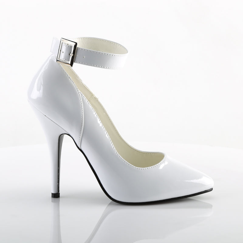 Seduce 431 White Patent Pumps
