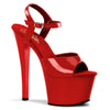 Sky 309 Red Patent Platforms