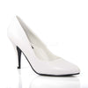 Classique 20 Cream Patent Pointed Stilettos