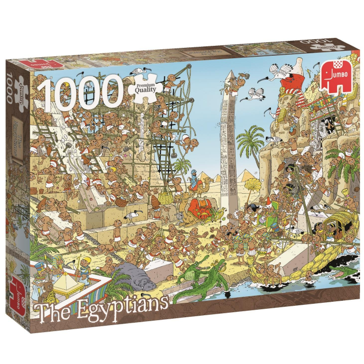 Púsl pcs of History Egypt 1000 bita