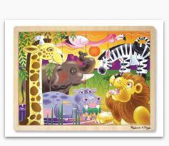 MD African Plains Wooden Jigsaw Puzzle -
