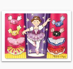 MD Ballerina Dress-Up Mix n Match Peg P