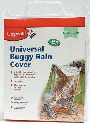 Clippasafe buggy rain cover