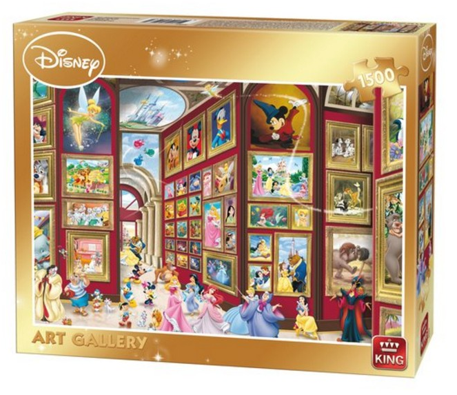 King púsl classic Disney Gallery 1500 bita