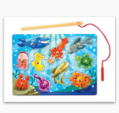MD Fishing Magnetic Puzzle Game