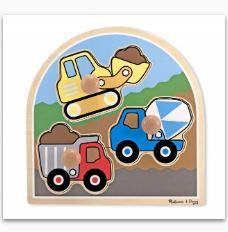 MD Construction Site Jumbo Knob Puzzle -