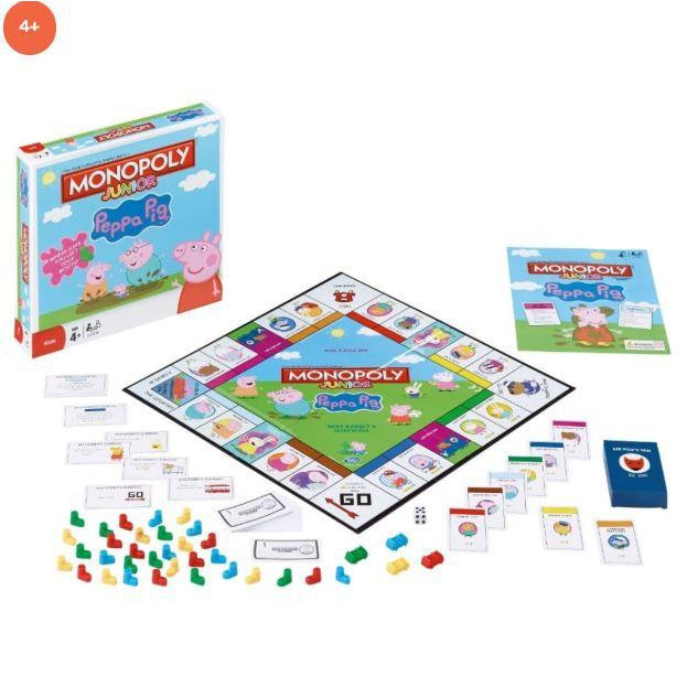Monopoly junior Peppa Pig