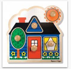 MD First Shapes Jumbo Knob - 5 Pieces