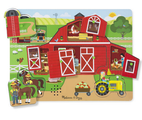 MD Around the Farm Sound Puzzle