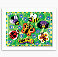 MD Insects Chunky Puzzle - 7 Pieces