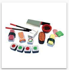 MD Sushi Slicing Play Set - Viða Sushi s