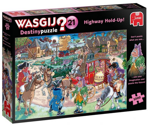 Wasgij D21 Highway Hold-Up