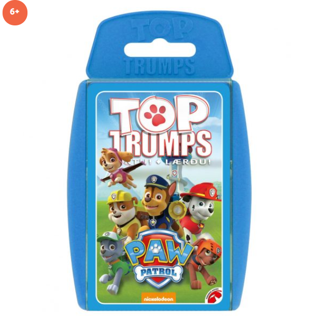 TOP TRUMPS - Hvolpasveitin