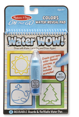 MD Water Reveal Pad - Colours and Shapes