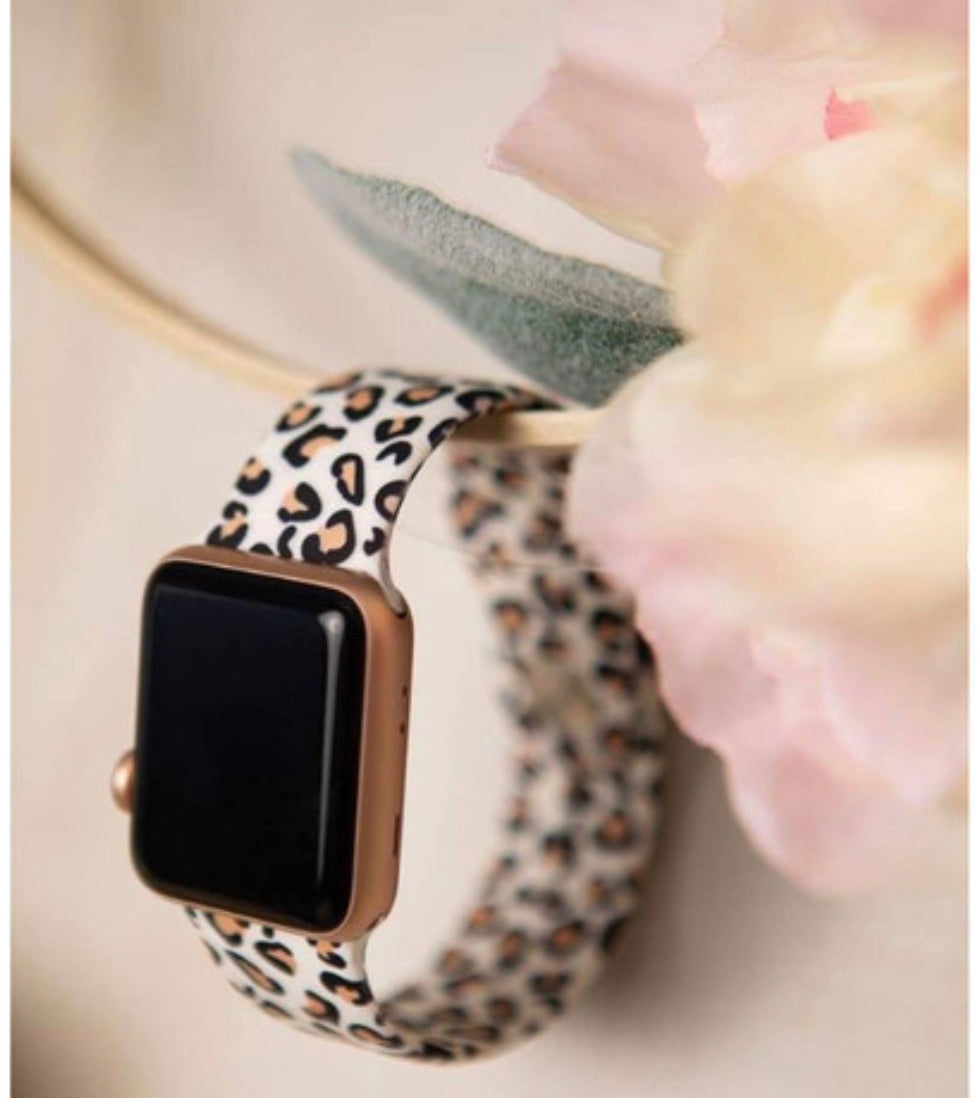 Cheetah Apple Watch Bands