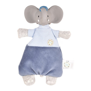 Alvin the Elephant Baby Lovey - Tikiri Toys