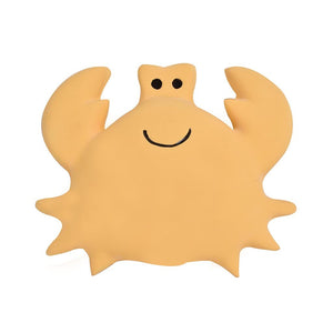 Crab - Natural Rubber Baby Rattle & Bath Toy - Tikiri Toys