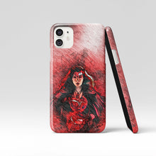 Load image into Gallery viewer, Scarlet Witch Wanda iPhone & Samsung Galaxy Case