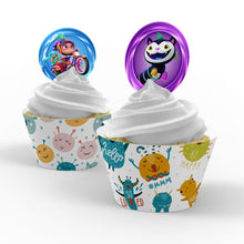 Load image into Gallery viewer, Abby Hatcher Cupcake Toppers - 2
