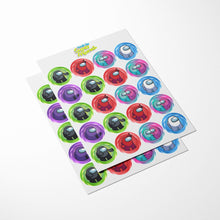 Load image into Gallery viewer, Among Us Cupcake Toppers - 3