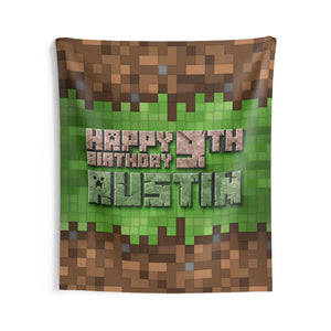 Minecraft Birthday Banners