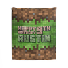 Load image into Gallery viewer, Minecraft Party Banner
