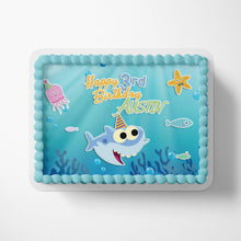 Load image into Gallery viewer, Baby Shark Birthday Cake Topper - 3