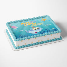 Load image into Gallery viewer, Baby Shark Birthday Cake Topper - 4