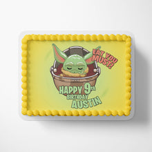 Load image into Gallery viewer, Baby Yoda Edible Cake Toppers - 3