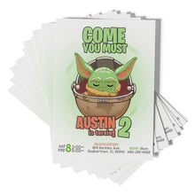 Load image into Gallery viewer, Baby Yoda Invitations - 1