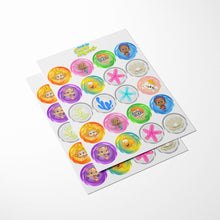 Load image into Gallery viewer, Bubble Guppies Cupcake Toppers - 3