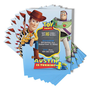 Buzz & Woody Invitations - 1
