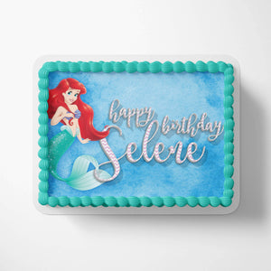 Disney Ariel Cake Toppers - 3