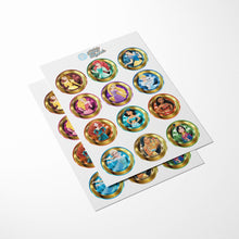 Load image into Gallery viewer, Disney Princess Cupcake Toppers - 2
