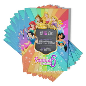 Disney Princess Invitations - 1
