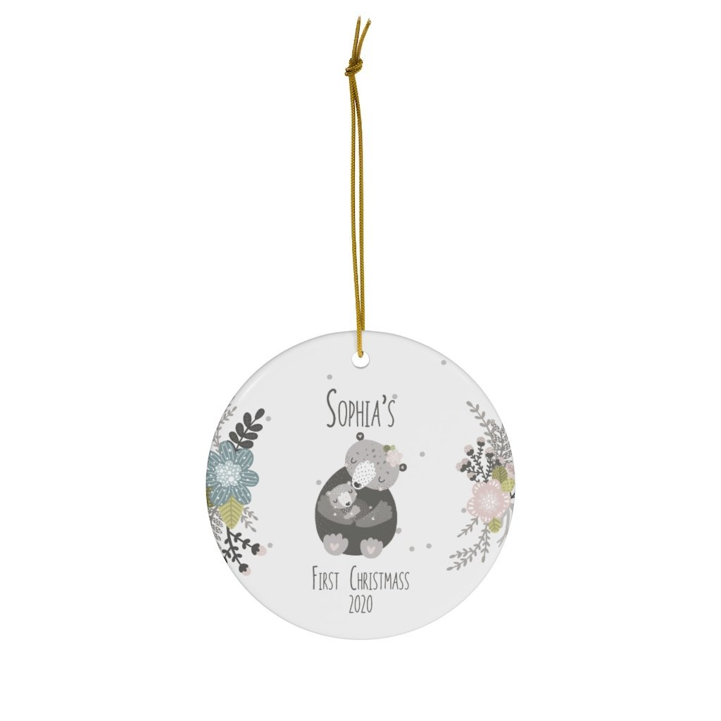 First Christmas Ornament - 1
