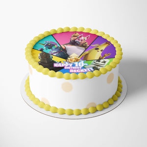 Fortnite Birthday Cake Season 9 Topper - 2