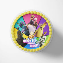 Load image into Gallery viewer, Fortnite Birthday Cake Season 9 Topper - 1