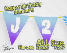 Load image into Gallery viewer, Fortnite Happy Birthday Banner - 7