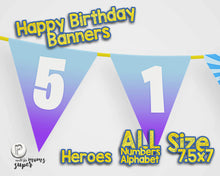 Load image into Gallery viewer, Fortnite Happy Birthday Banner - 4