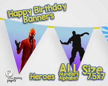 Load image into Gallery viewer, Fortnite Happy Birthday Banner - 3