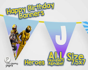 Fortnite Happy Birthday Banner - 8