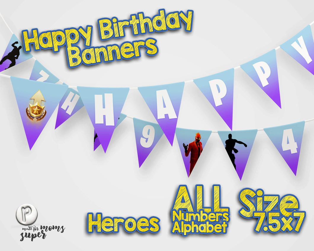 Fortnite Happy Birthday Banner - 1