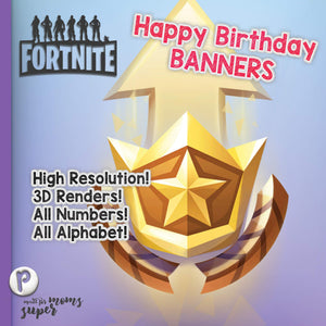 Fortnite Happy Birthday Banners - 2