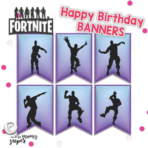 Fortnite Happy Birthday Banners - 5